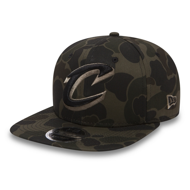 New Era 9Fifty NBA Cleveland Cavaliers Camo - Hip Hop Shop beeae04a405